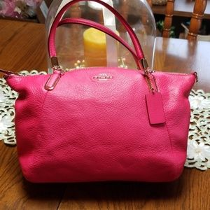 Pink Ruby Coach Bag